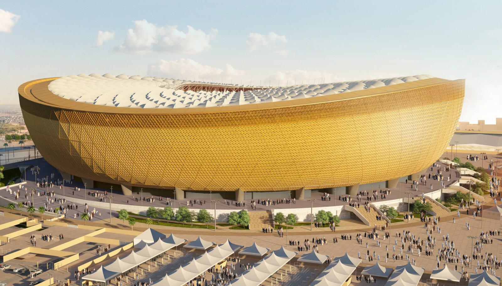 80 000 kohaga Lusail Stadium peaks võõrustama finaali