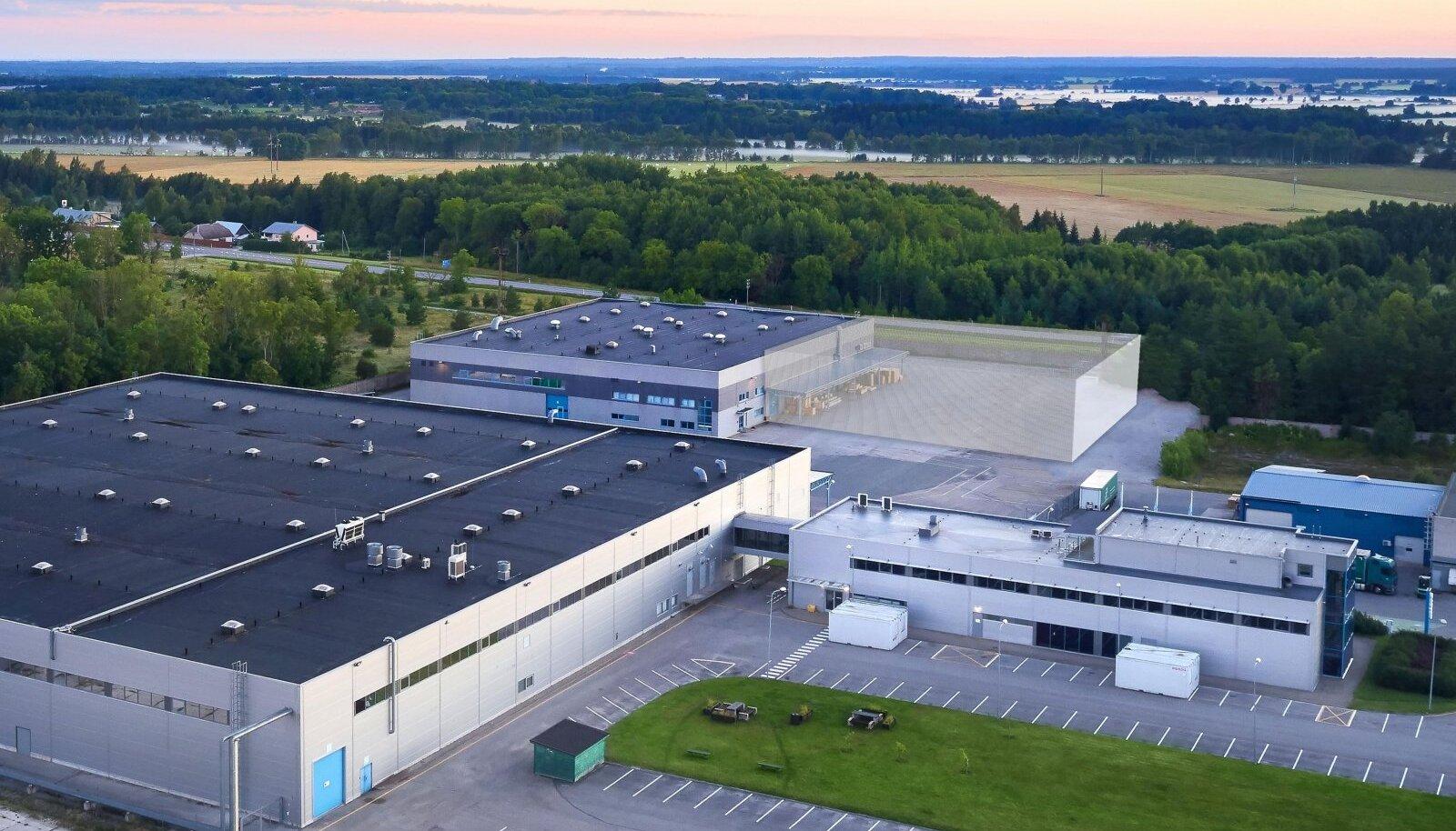 Ensto planeeritav uus tehas