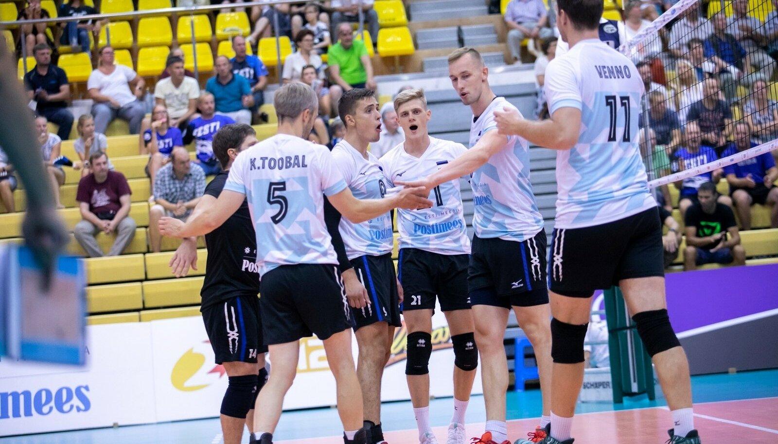 Võrkpallikoondise sõprusmäng Eesti-Slovakkia
