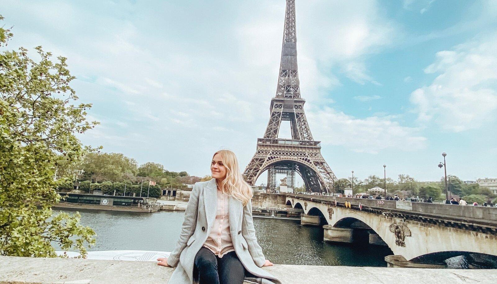 Karolina ja Eiffeli torn