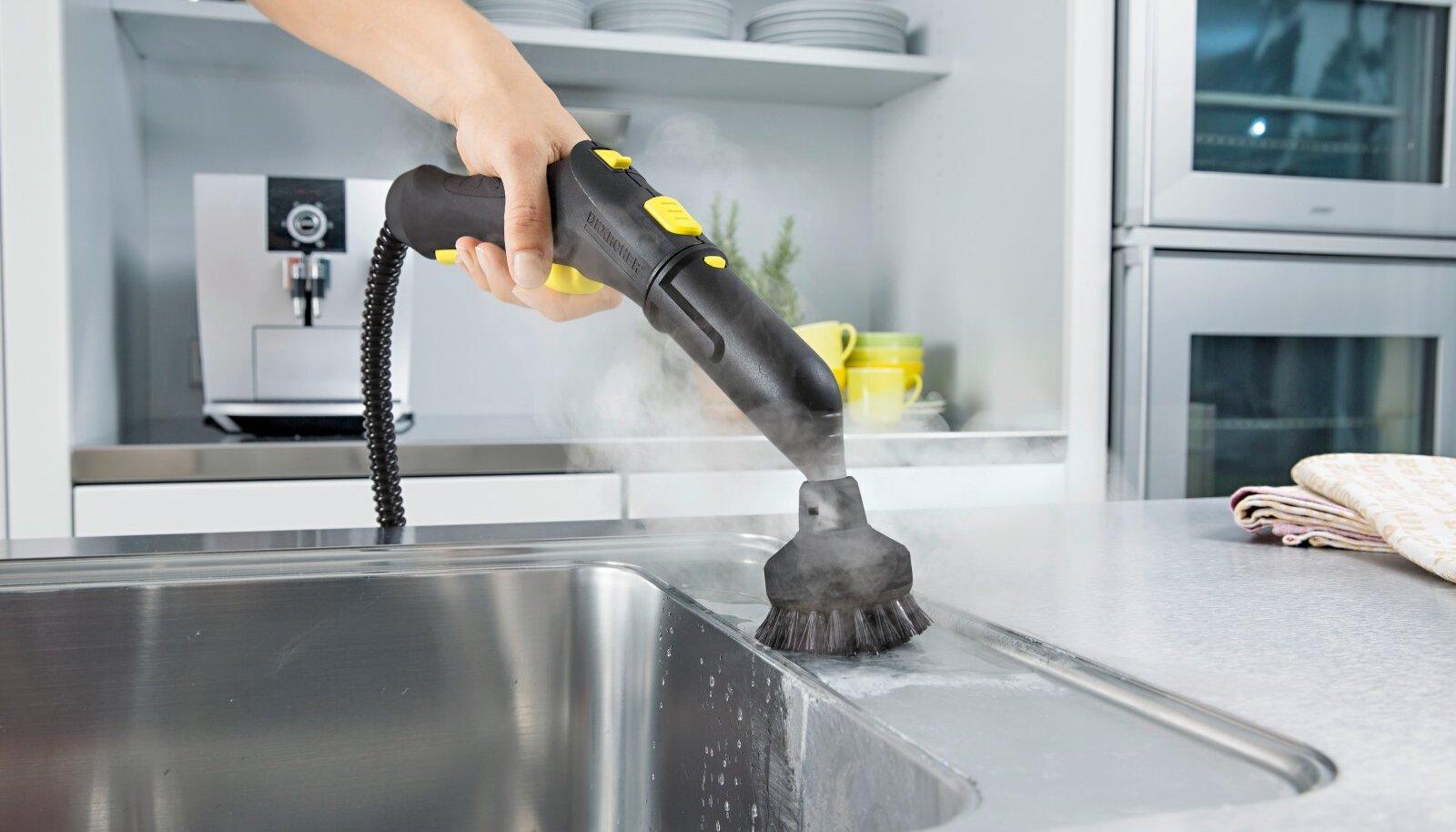 Erinevad otsikud hõlbustavad kodu puhastamist.