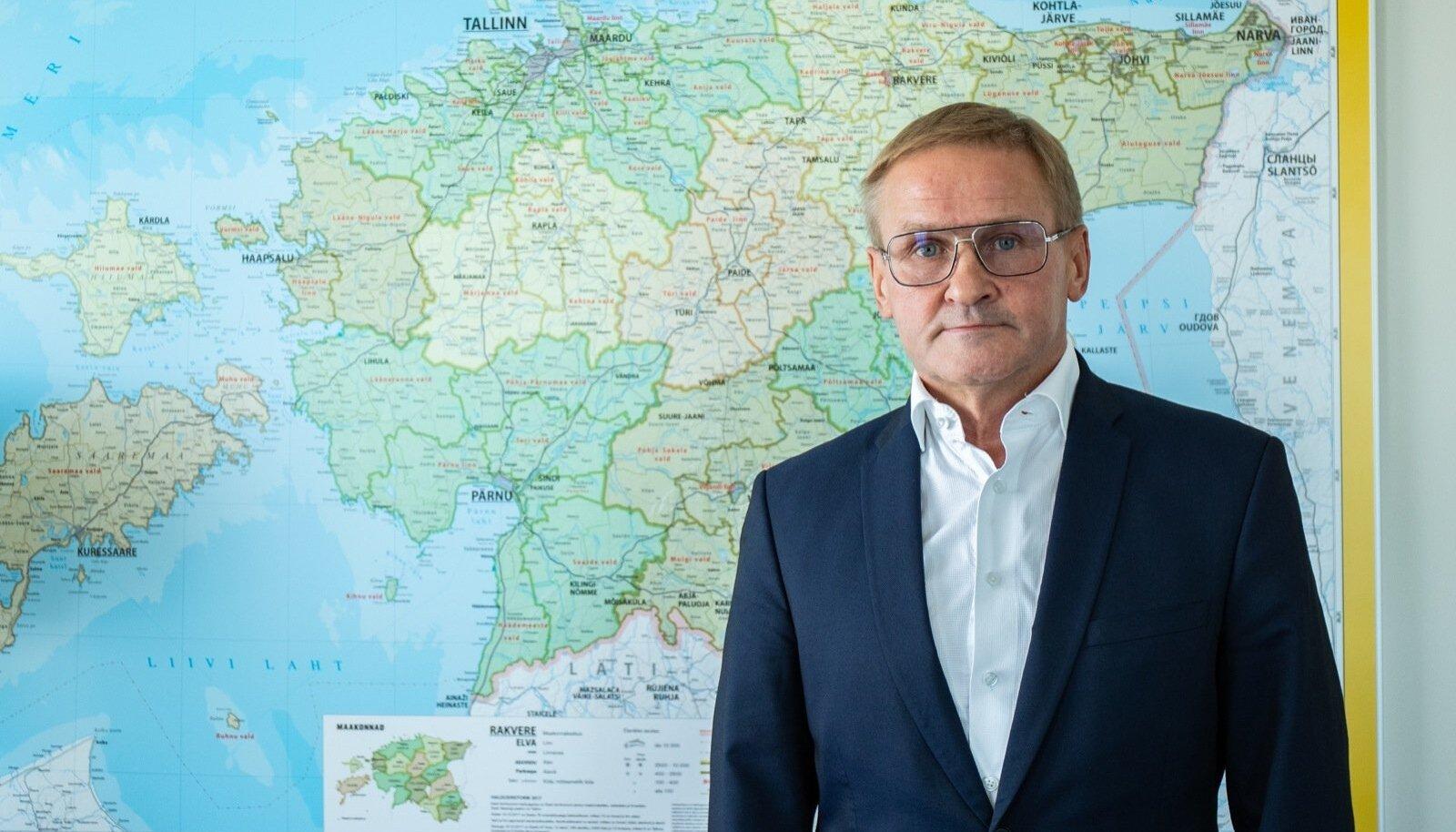 Riigireformi vedav riigihalduse minister Jaak Aab