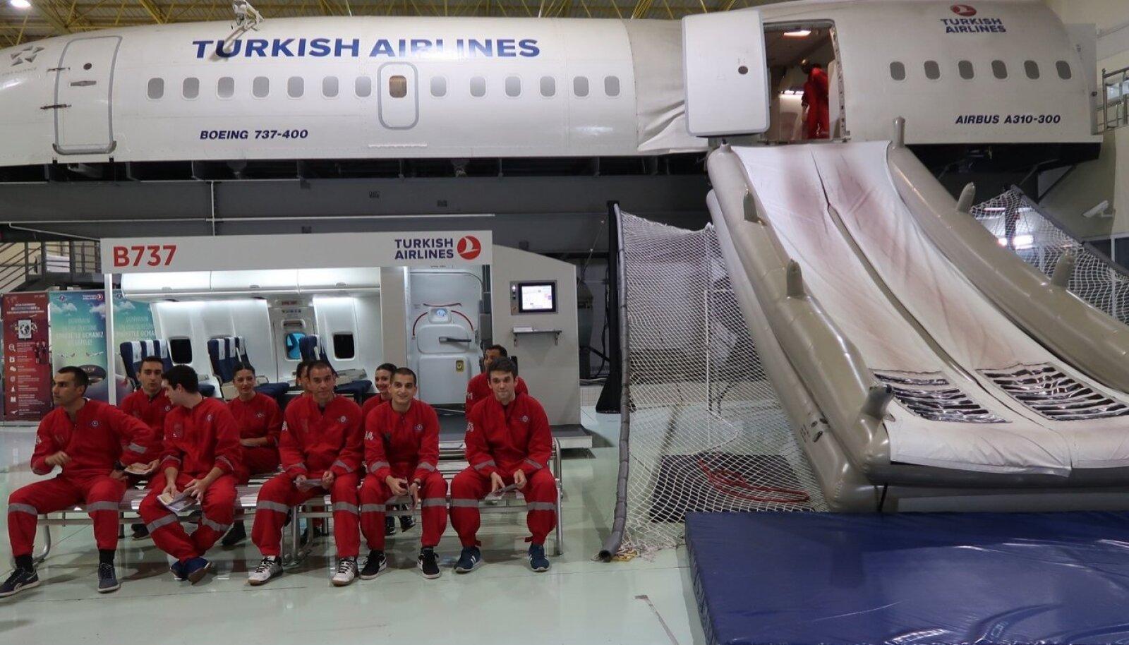 Turkish Airlines treeningud