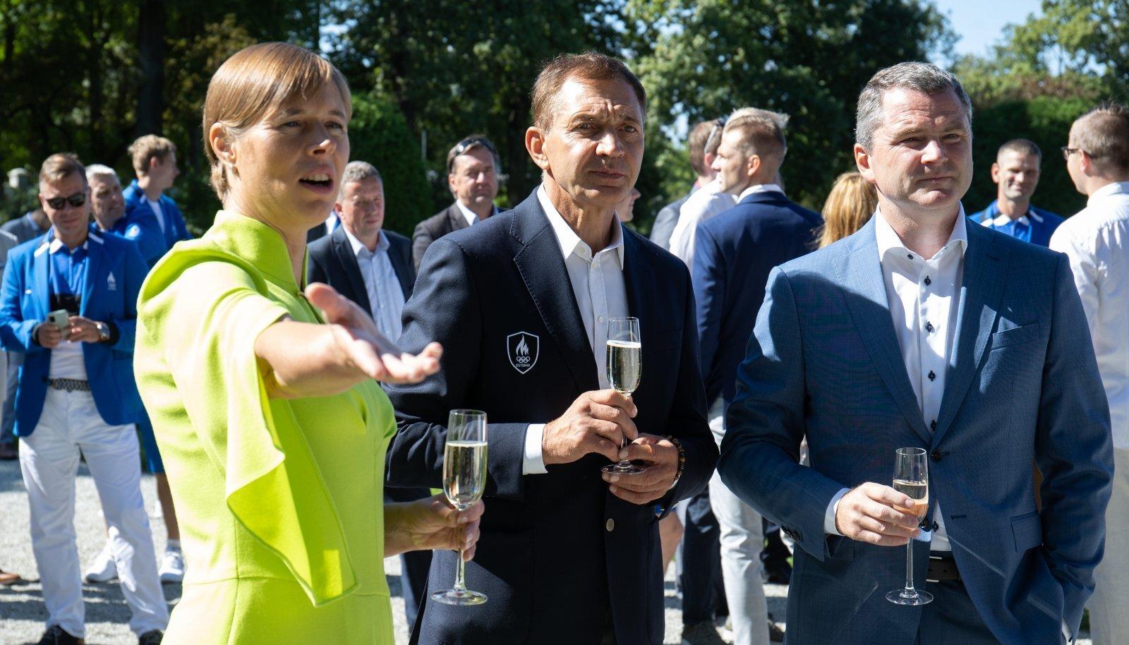 Kersti Kaljulaid võiks EOK juhtide Urmas Sõõrumaa ja Siim Suklesega selgeks rääkida, kas olümpiale jõudmine on kangelastegu või mitte.