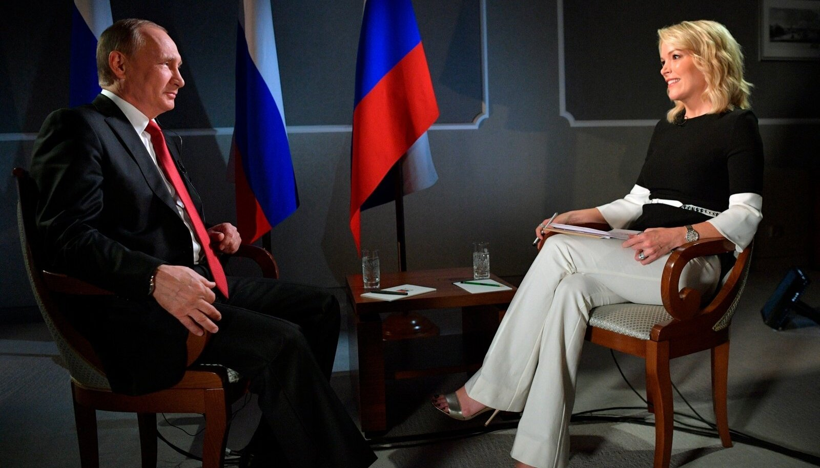 Vladimir Putin, Megyn Kelly