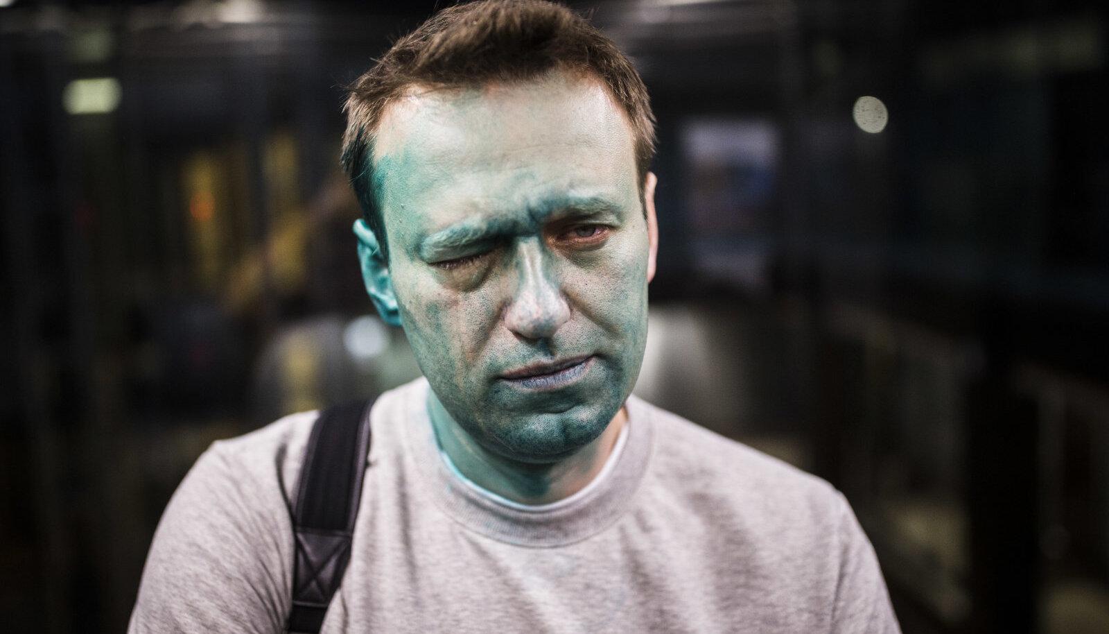 Navalnõi pärast aprillikuist rünnakut