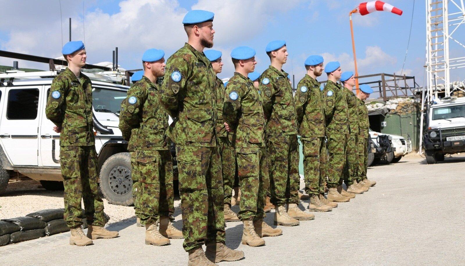 Eesti kaitseväelased Liibanonis