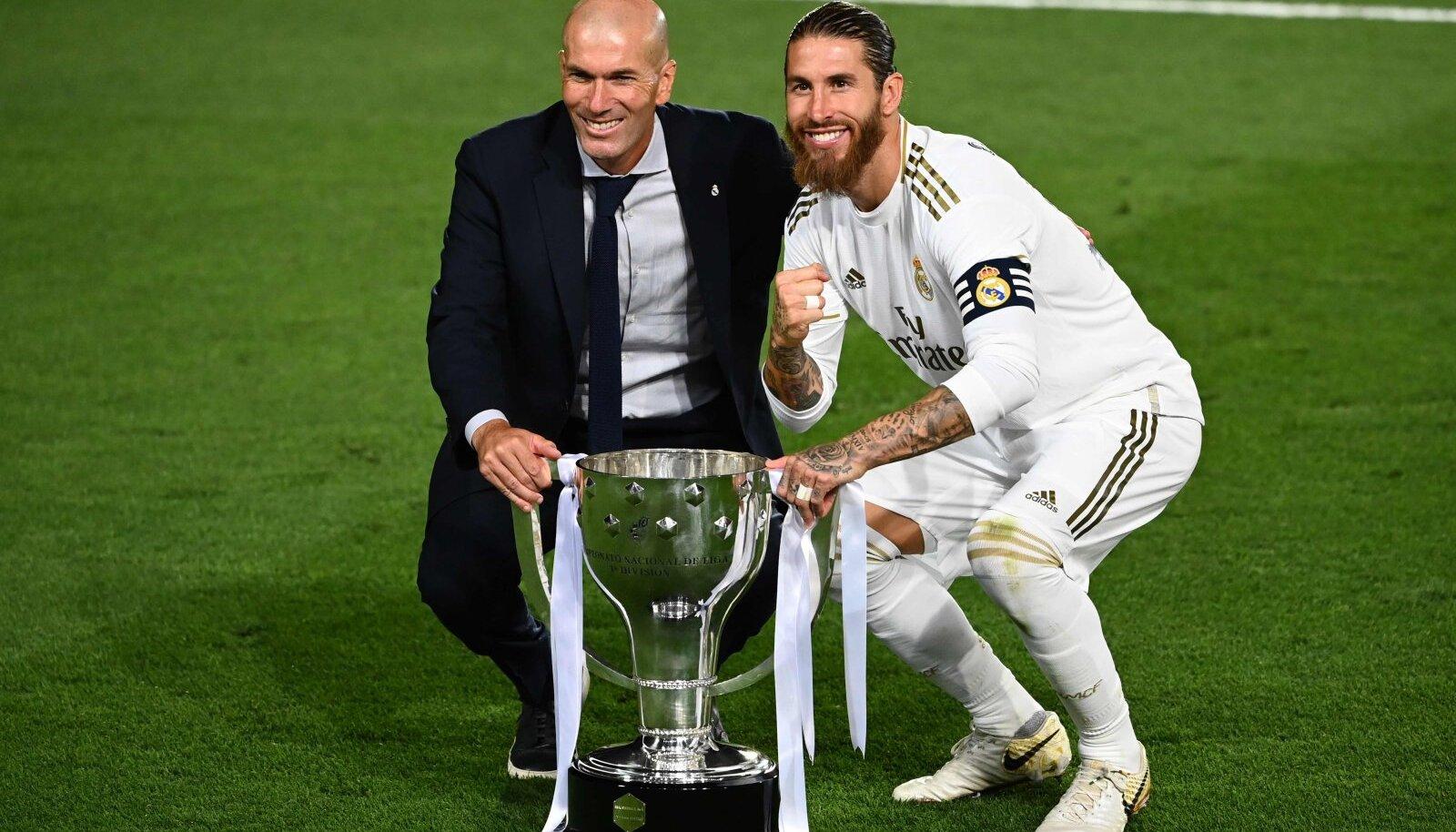 Zinedine Zidane ja Sergio Ramos