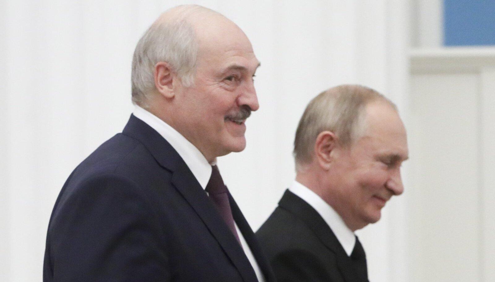 Lukašenka ja Putin arutavad liitriigi teemat edasi oktoobris Minskis.