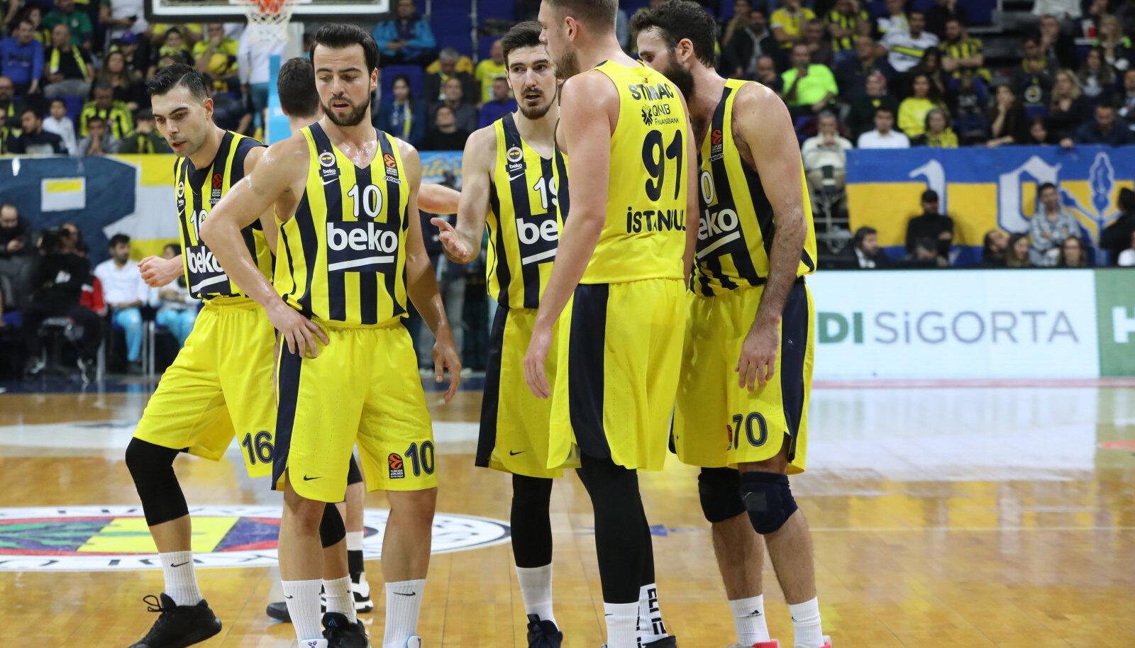 Istanbuli Fenerbahce mängumehed