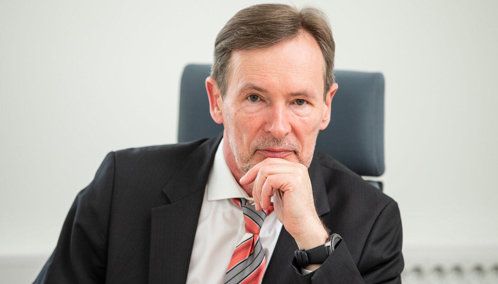 Rail Baltic Estonia juht Tõnu Grünberg