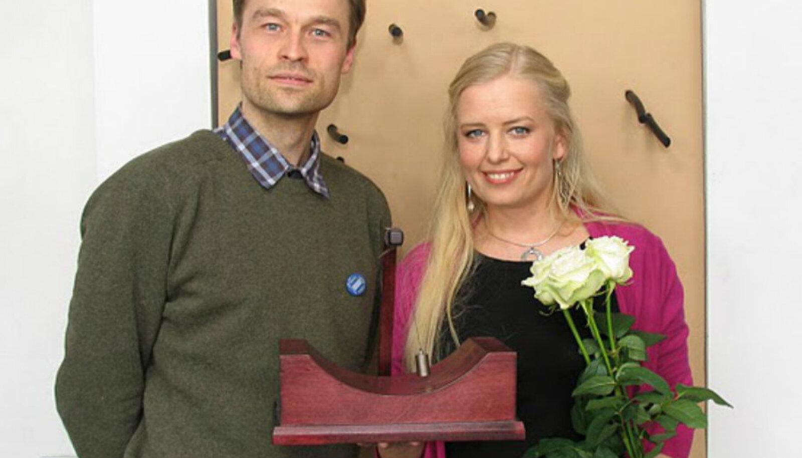 Martin Vällik ja Ingrid Peek
