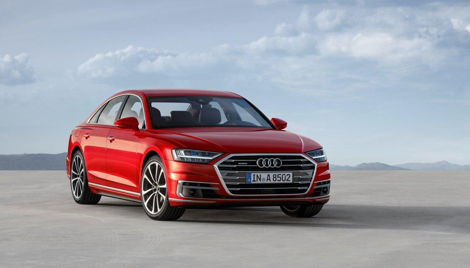Uus A8 on kõigi aegade tehnikarikkam Audi, mis lipulaevana toob esindusmargi valikusse nii uue disainifilosoofia, uued juhiabid kui ka puutetundlikud ekraanid. Kuid kõige rohkem pakub head sõiduelamust.