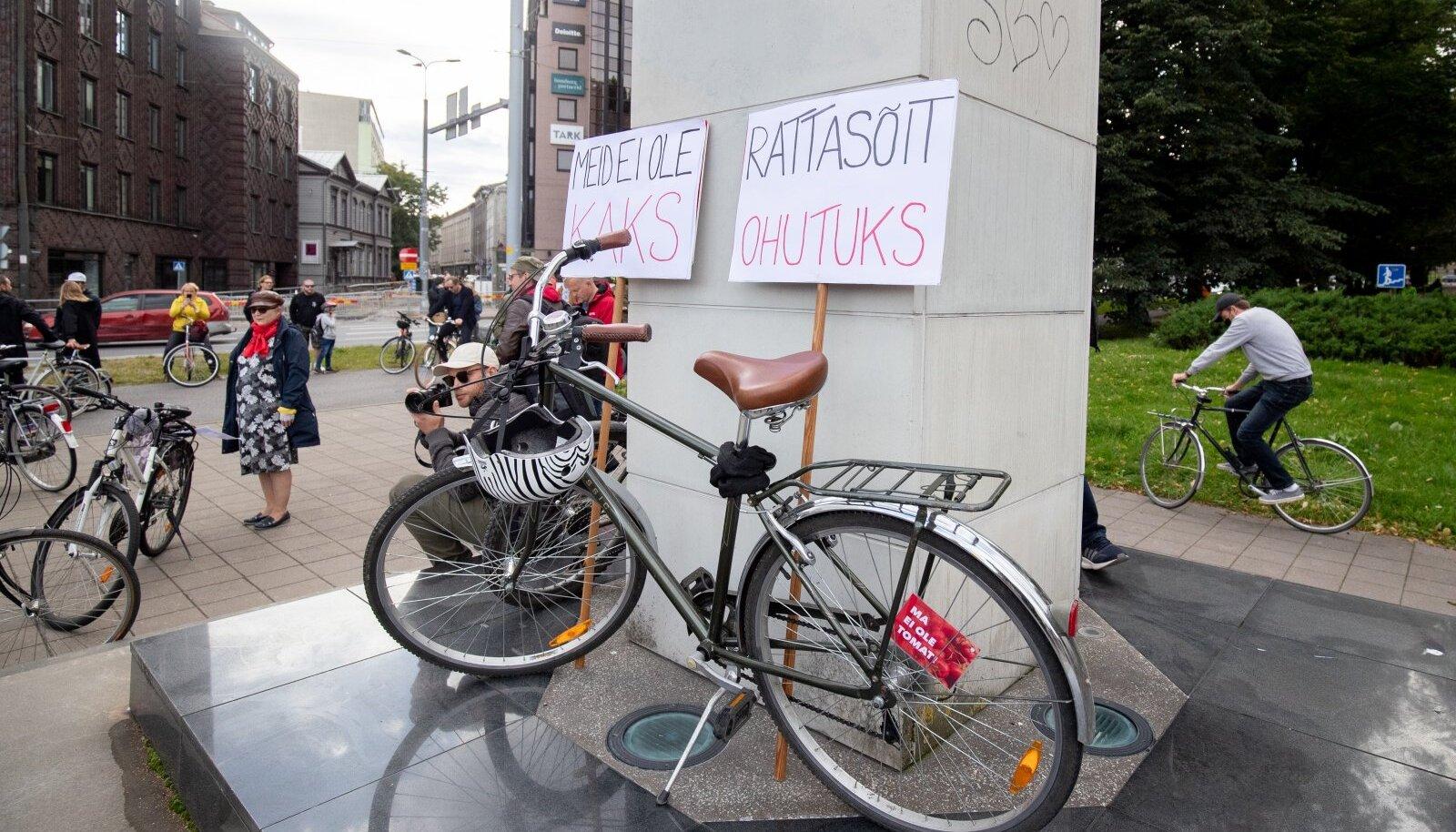 Jalgratturite meeleavaldus 11.09.2020