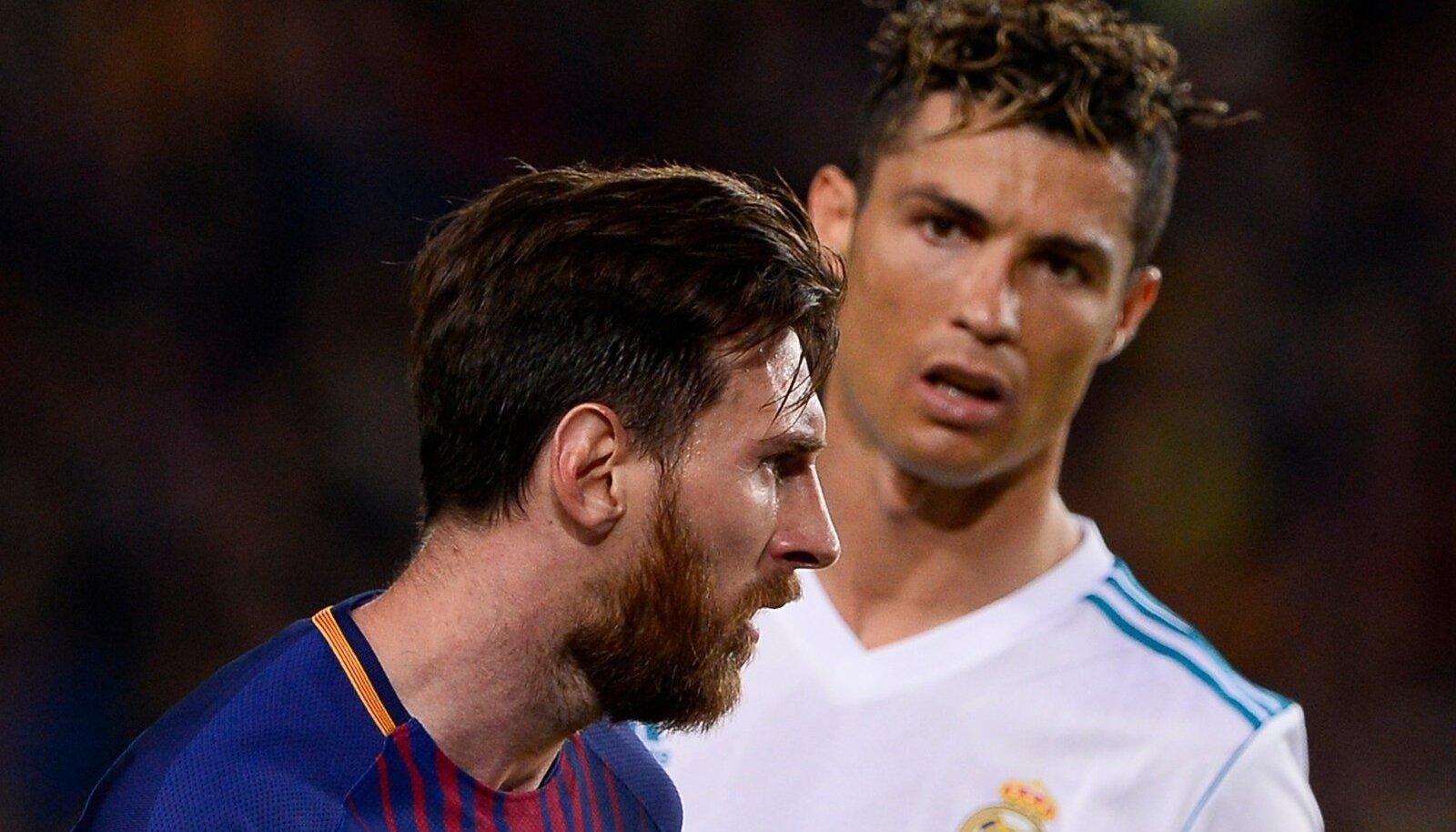 Lionel Messi ja Cristiano Ronaldo.