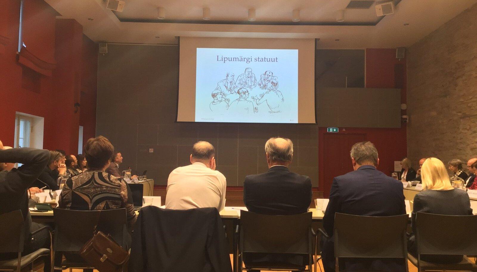 Maaelukomisjoni ees sõna võtnud veisekasvataja Kaupo Kutsari arvates teenib lipumärk kitsa ringkonna huvisid.
