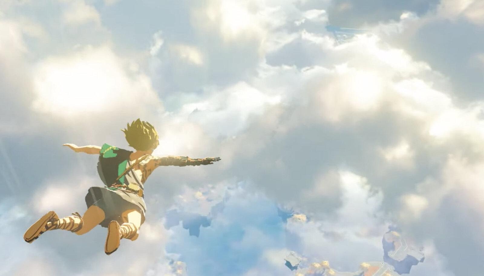 """ekraanitõmmis (tänavusel E3-messil huviga vastu võetud järg Switchi hitile """"The Legend of Zelda: Breath of the Wild"""")"""