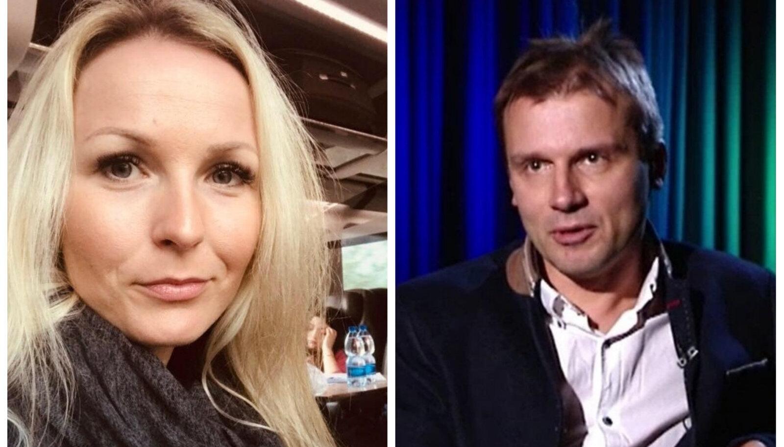 Jana Helen Juhaste ja Martin Künnap
