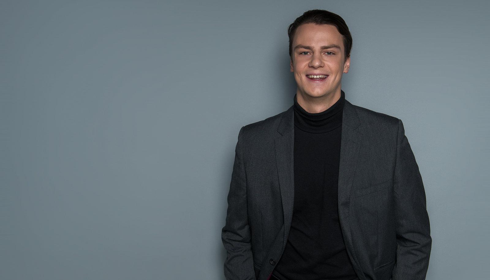 Sinimäe Põhikooli õpetaja Aleksei Jašin