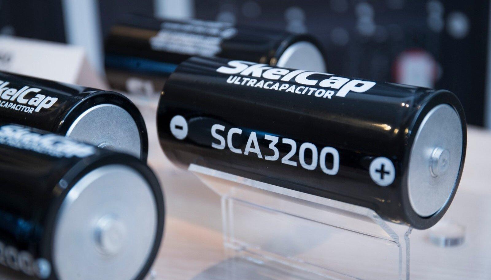 Skeleton Technologies superkondensaator