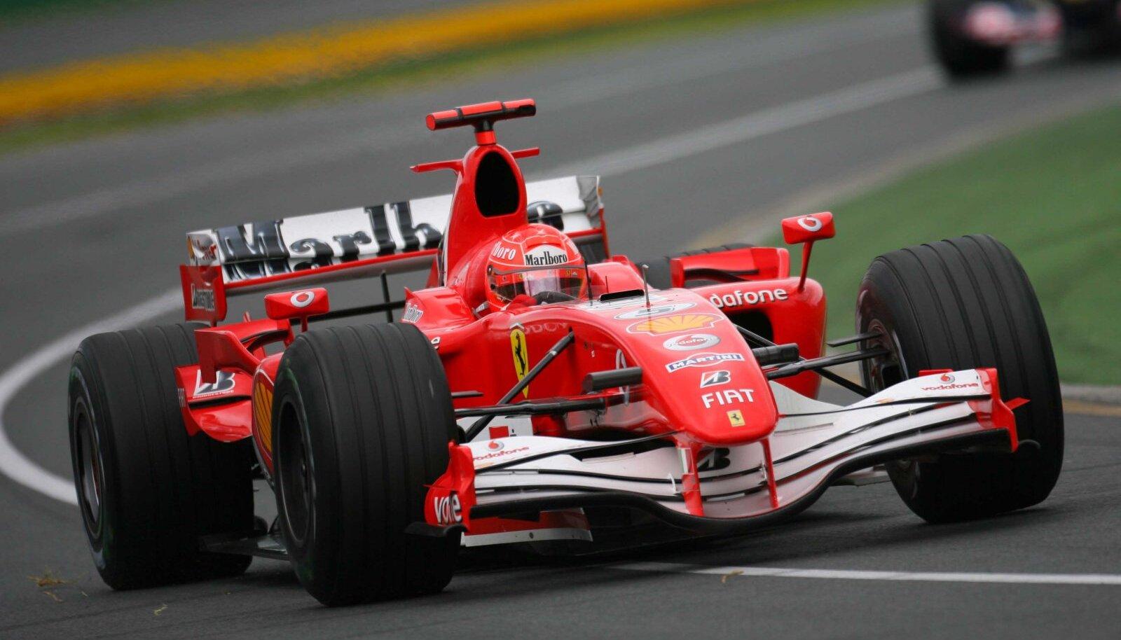 Michael Schumacher 2006. aasta Austraalia GP-l.