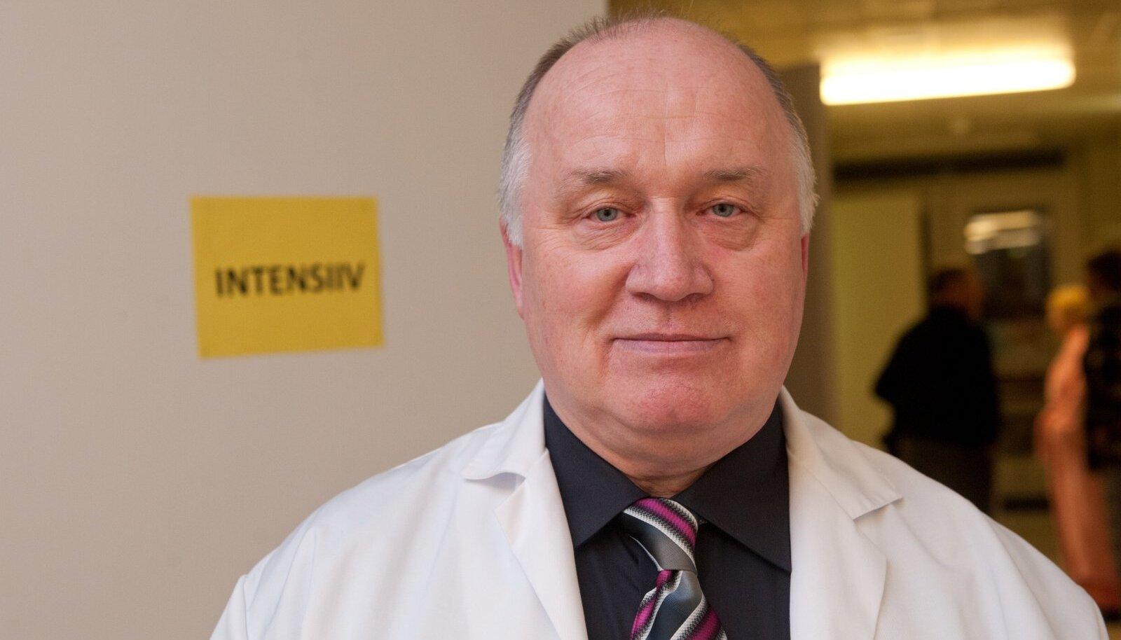 Ralf Allikvee- Ida- Tallinna Keskhaigla juhatuse esimees