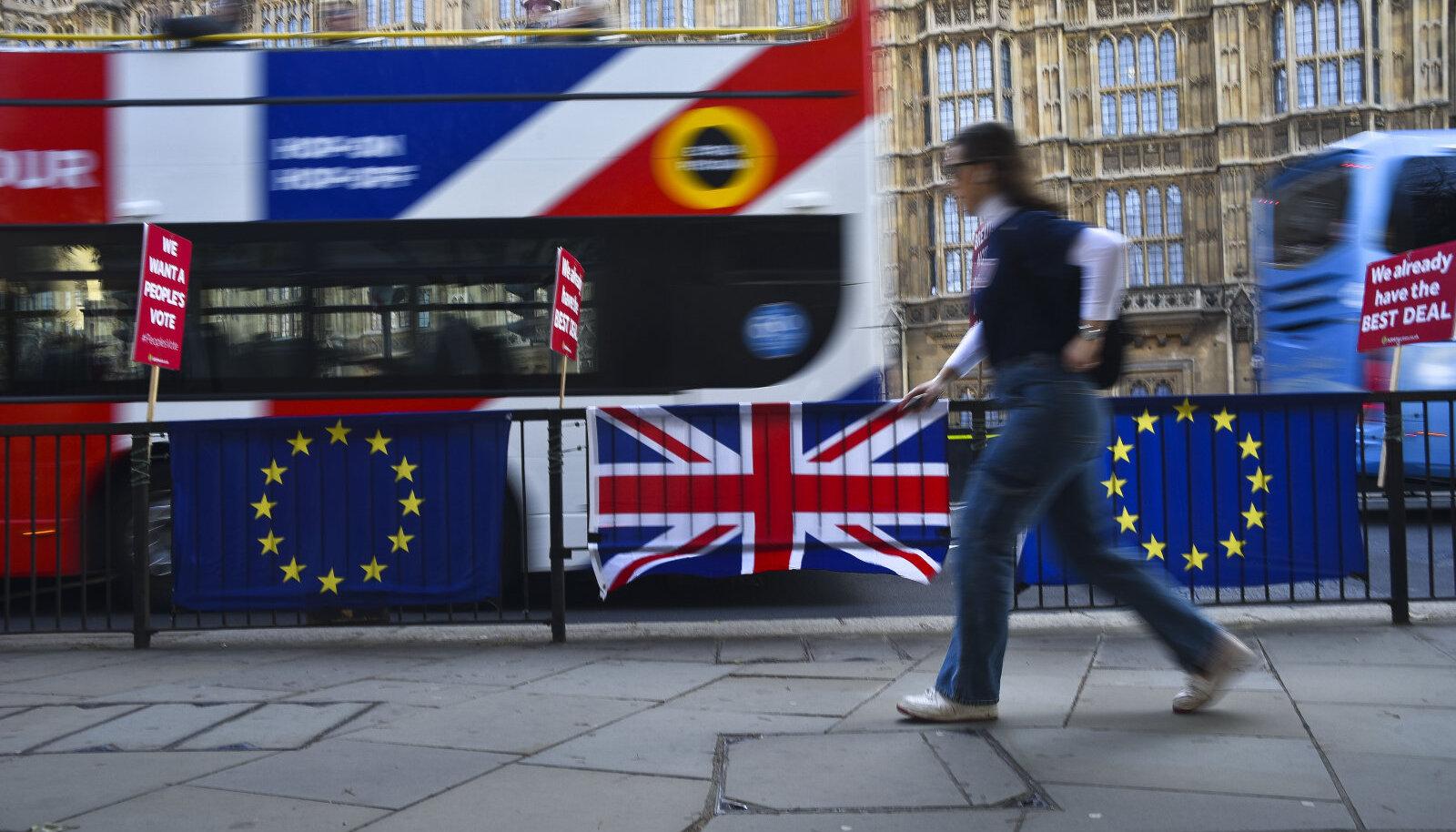 Brexiti aegne London