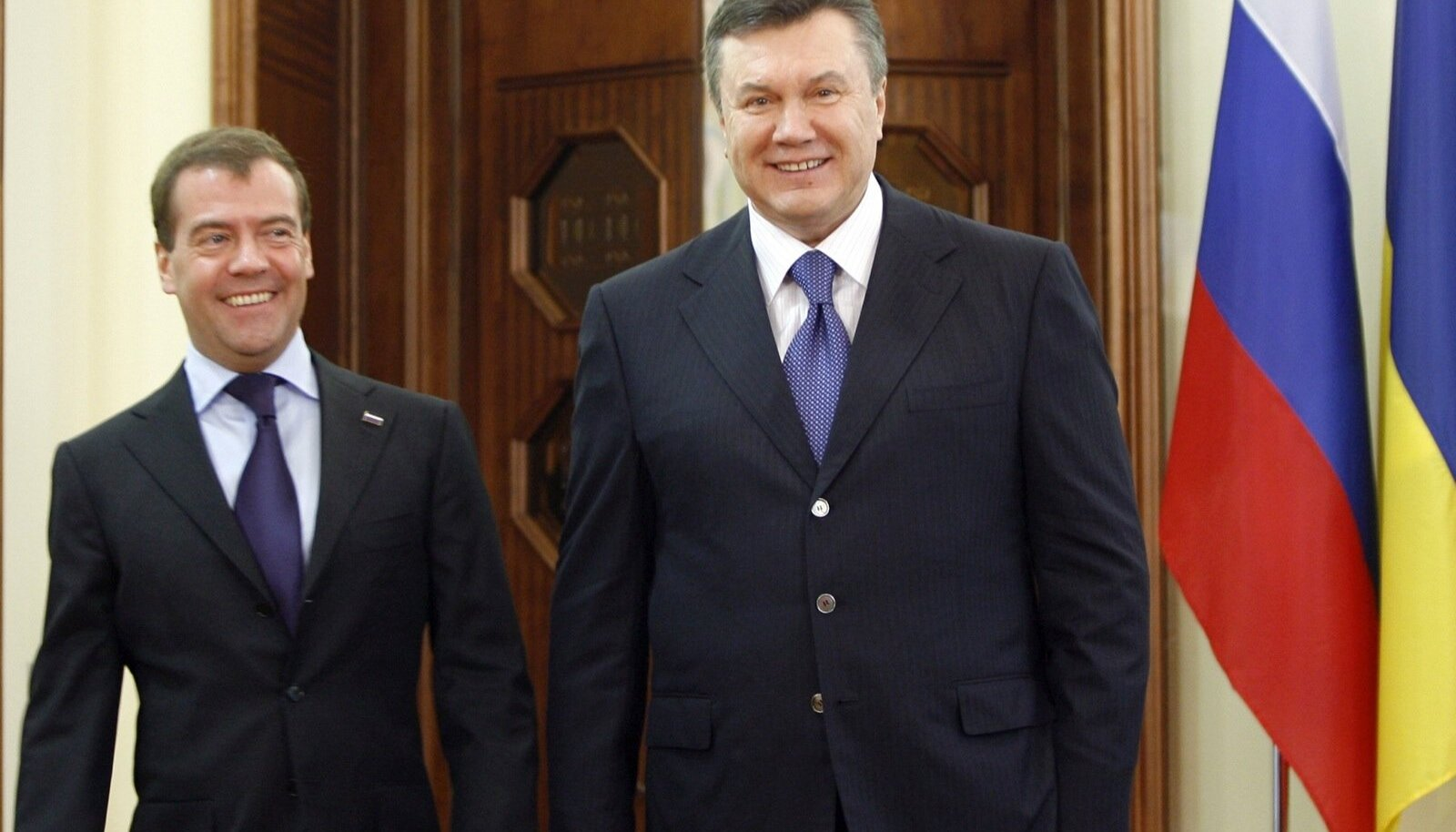 Dmitri Medvedev, Viktor Janukovõtš