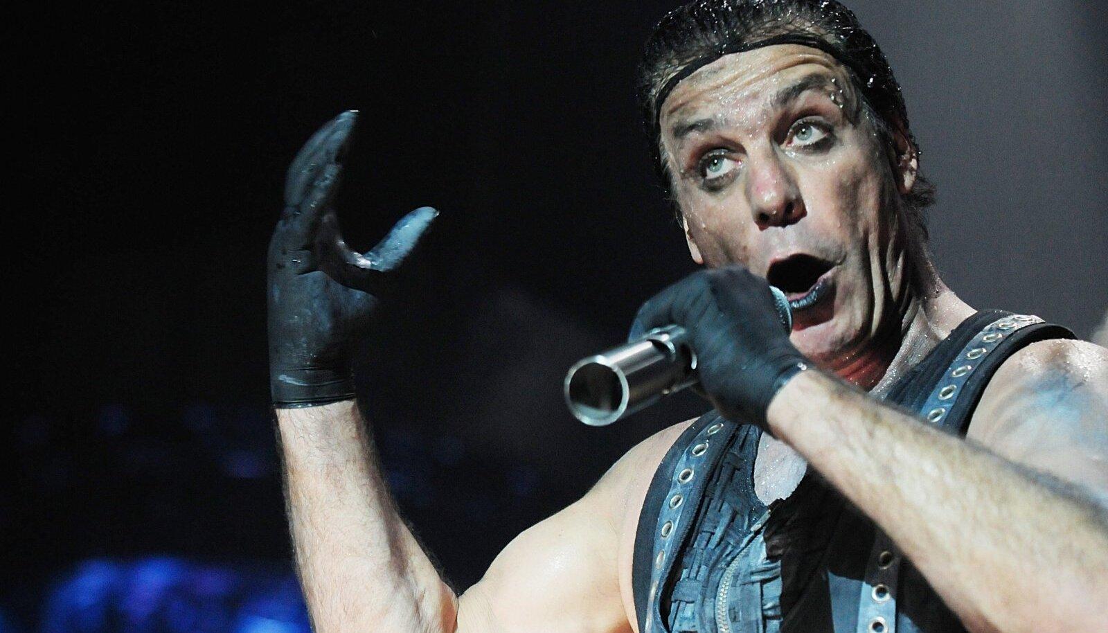 Rammstein Moskvas esinemas