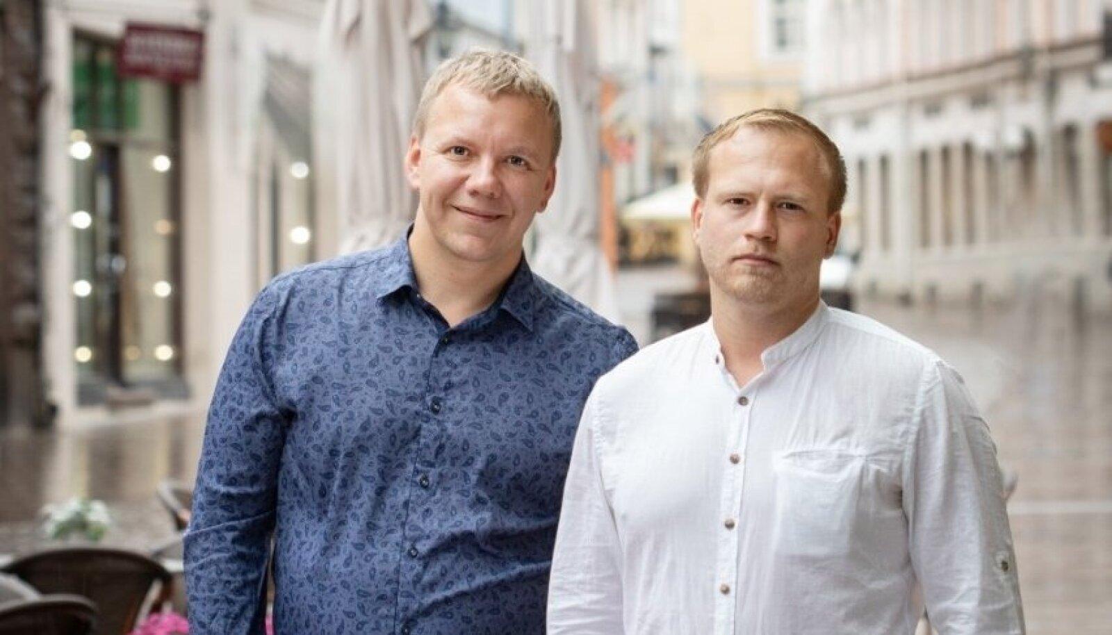 Hendrik Roosna ja Taivo Türnpu
