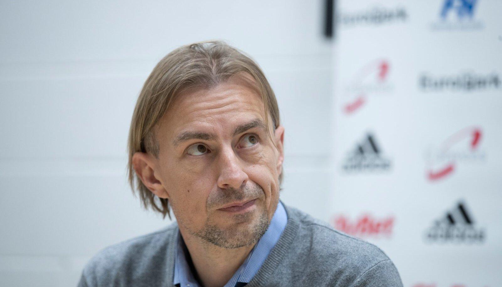 FCI Levadia tutvustab esindusmeeskonna uut peatreenerit