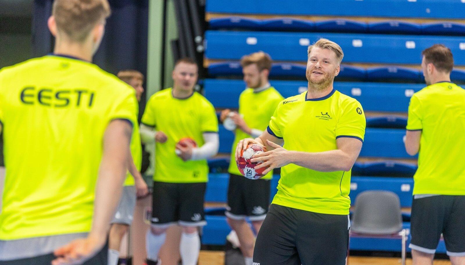 Eesti käsipallikoondise treening