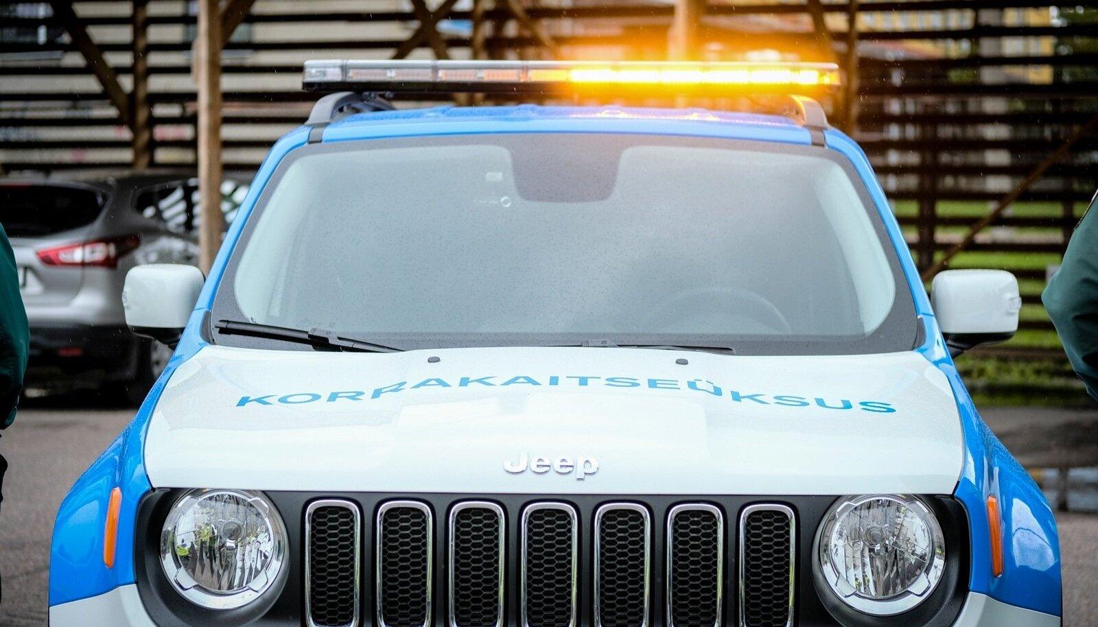 Munitsipaalpolitsei auto