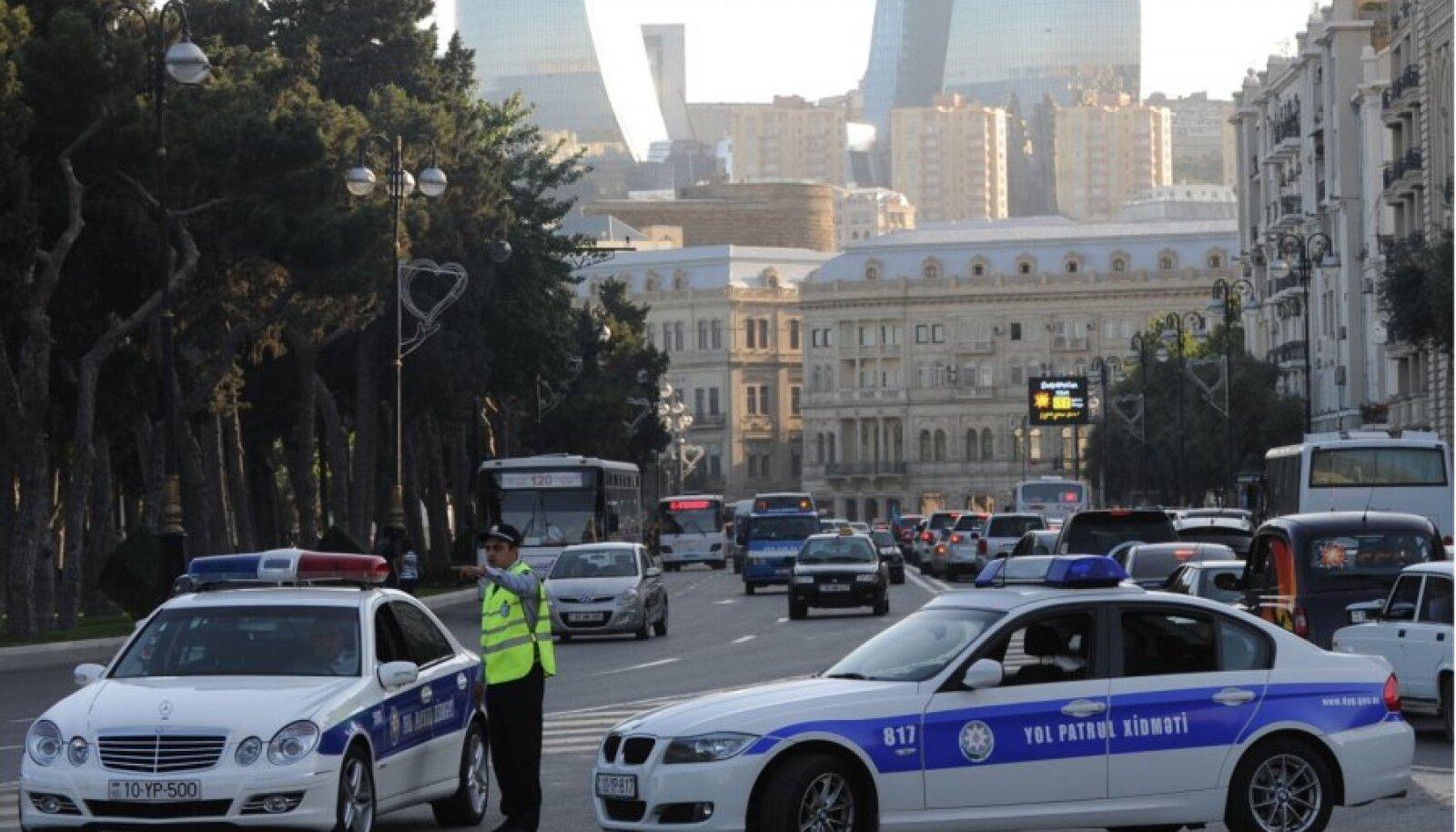 Bakuu politsei