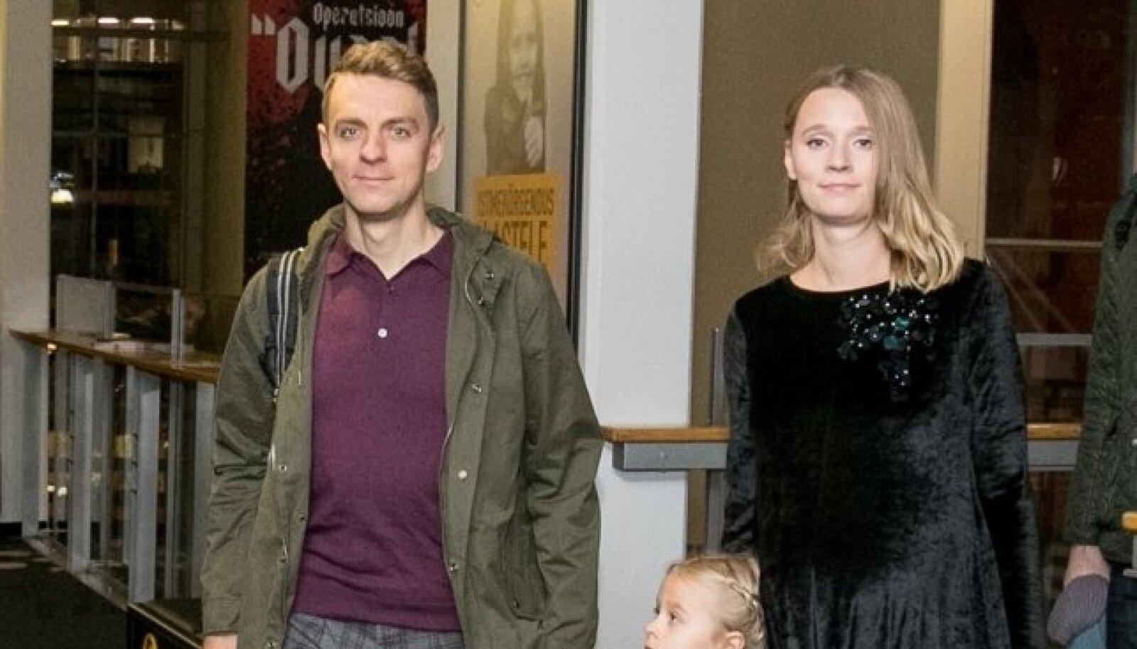 Tanel Kangert koos abikaasa Silviaga
