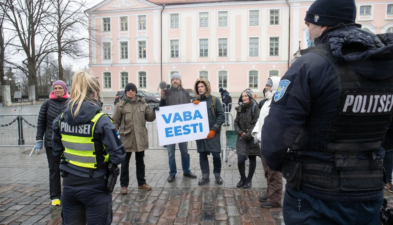 Protest Toompeal