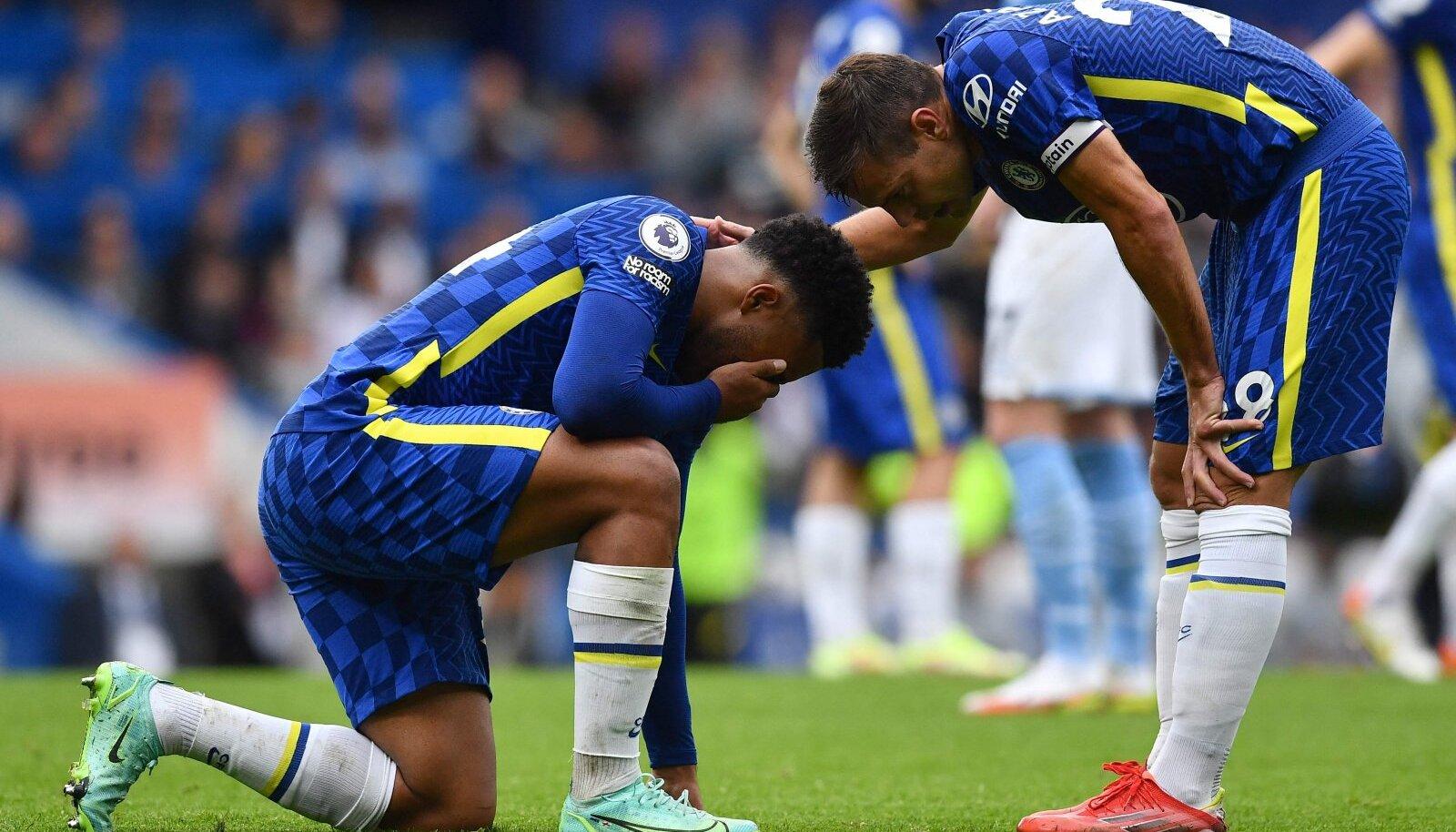 Reece James vigastas jalga Manchester Cityga kohtumises
