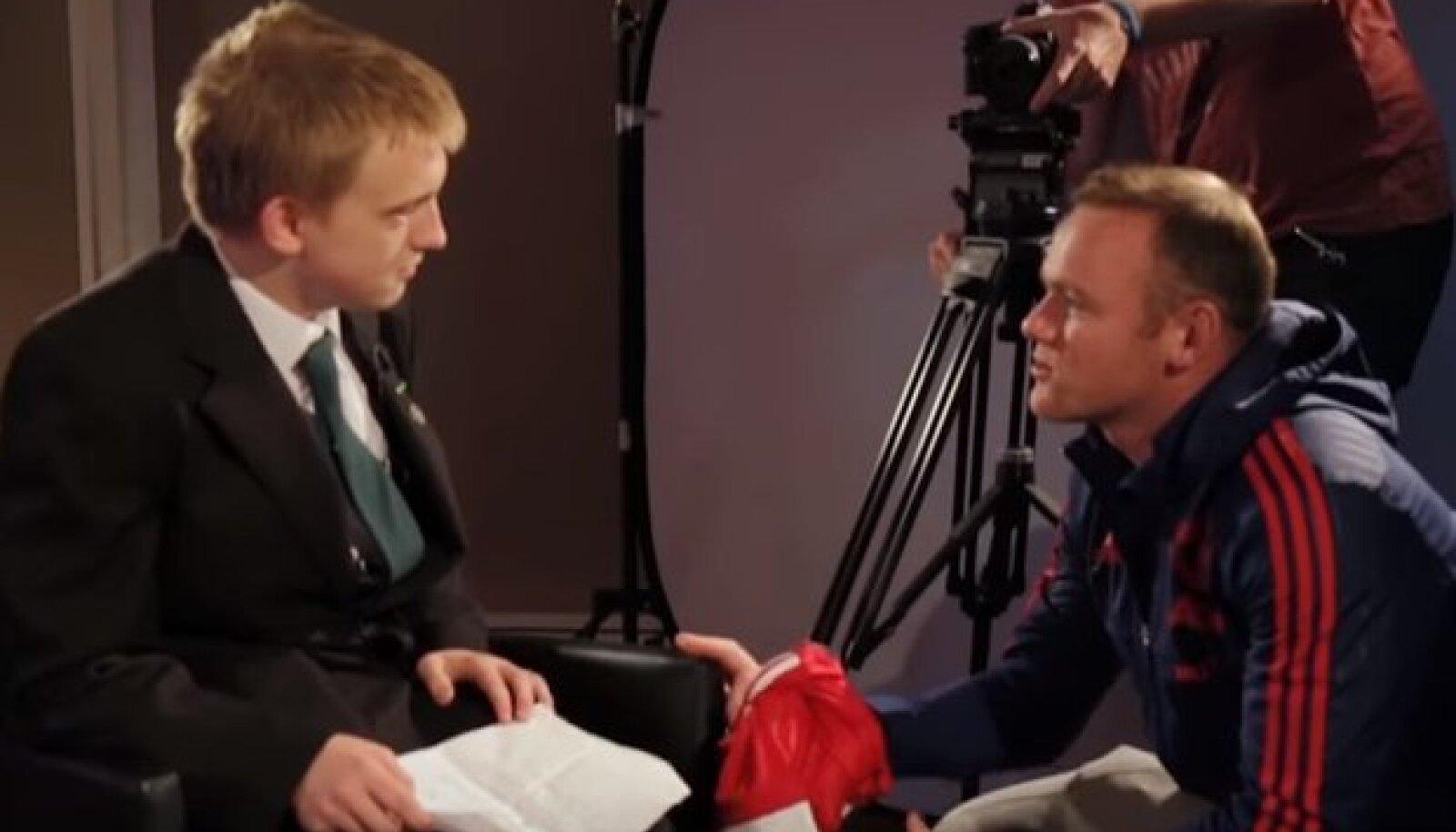 James King ja Wayne Rooney