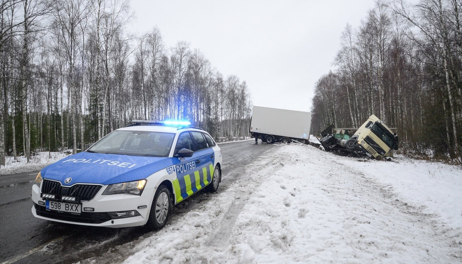 Pilt on illustratiivne sel nädalal juhtunud õnnetusest Viljandimaal