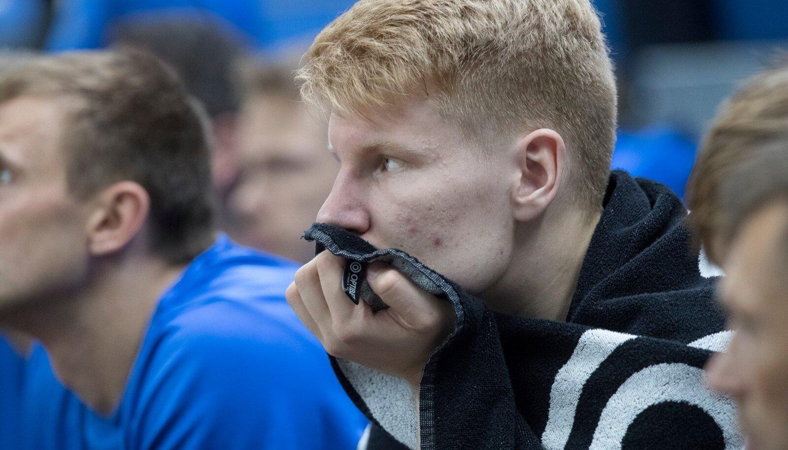 Ühisliiga mängudes pidi Matthias Tass leppima peamiselt varumeeste pingil istumisega.