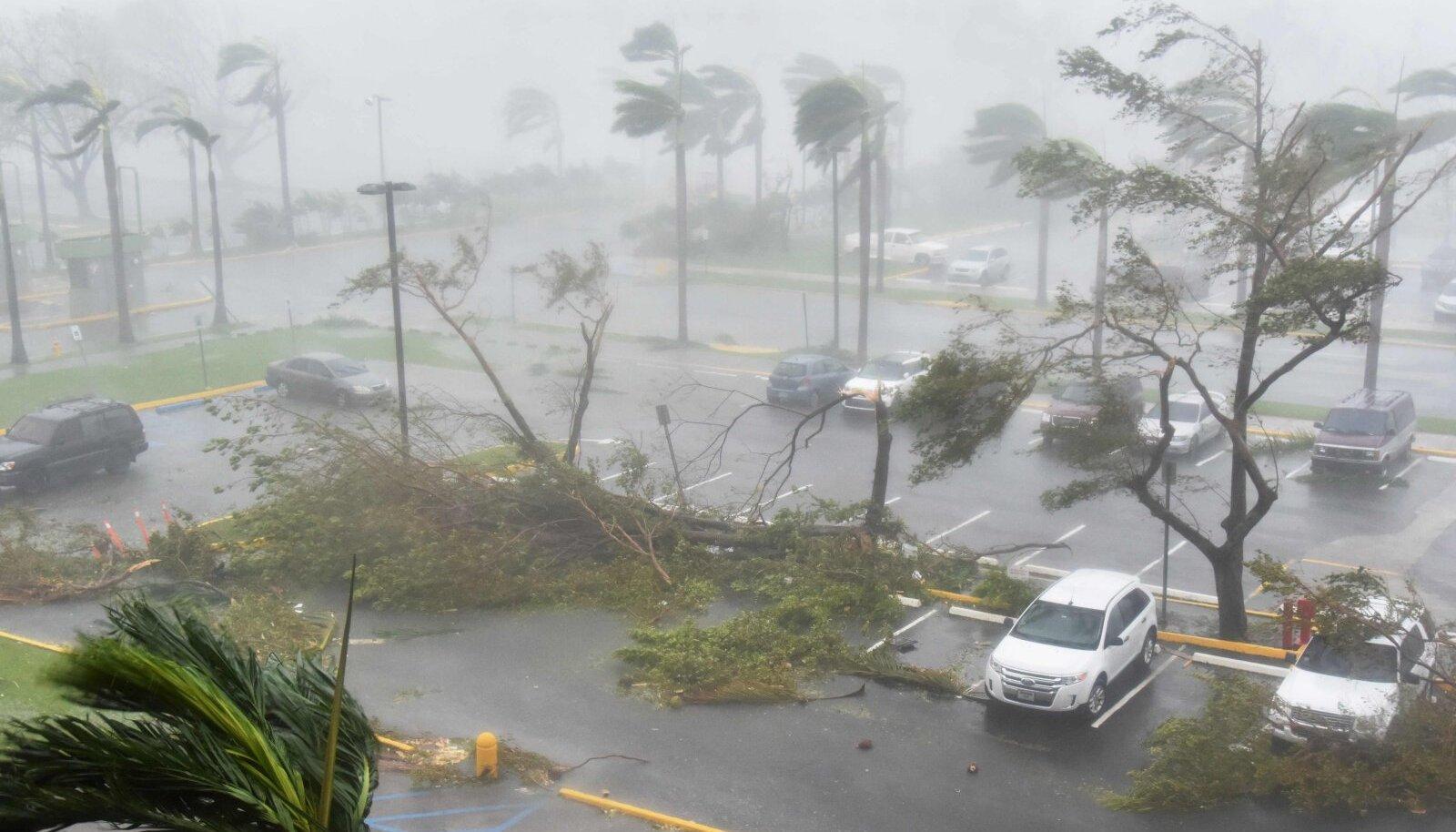 20. september 2017 Puerto Rico pealinnas.