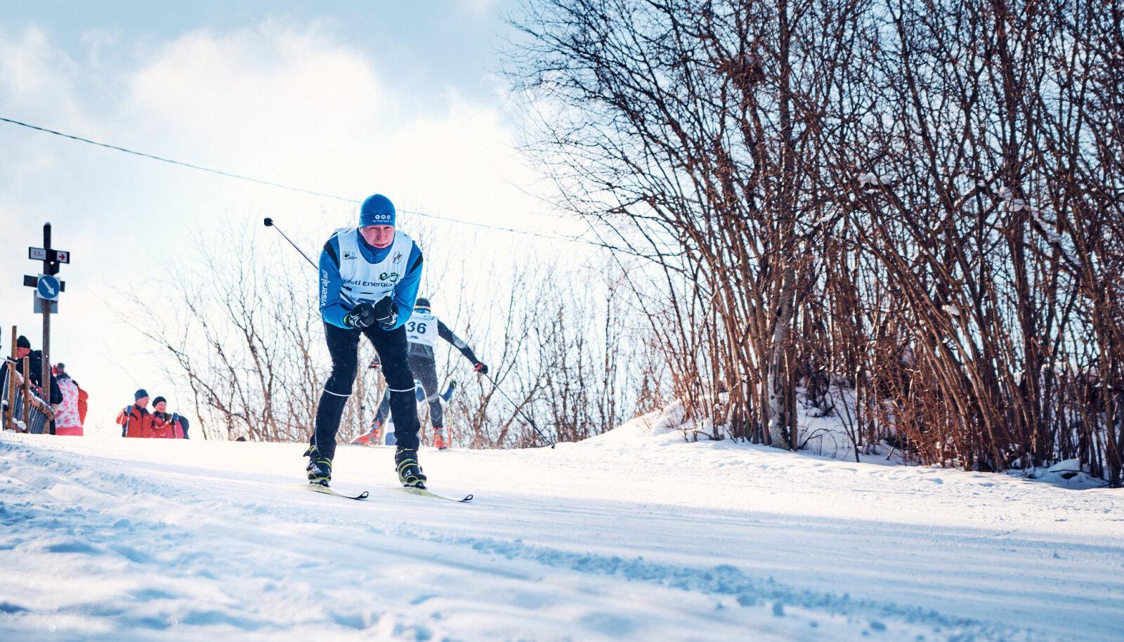 Alo Lõoke, Narva Suusasõidul. 24.02.2018