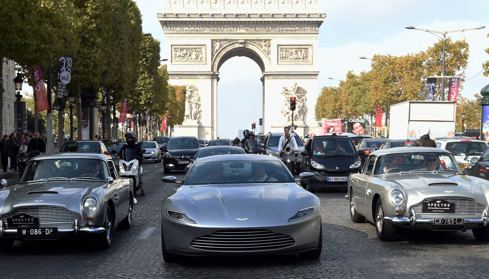 Aston Martinid Pariisis