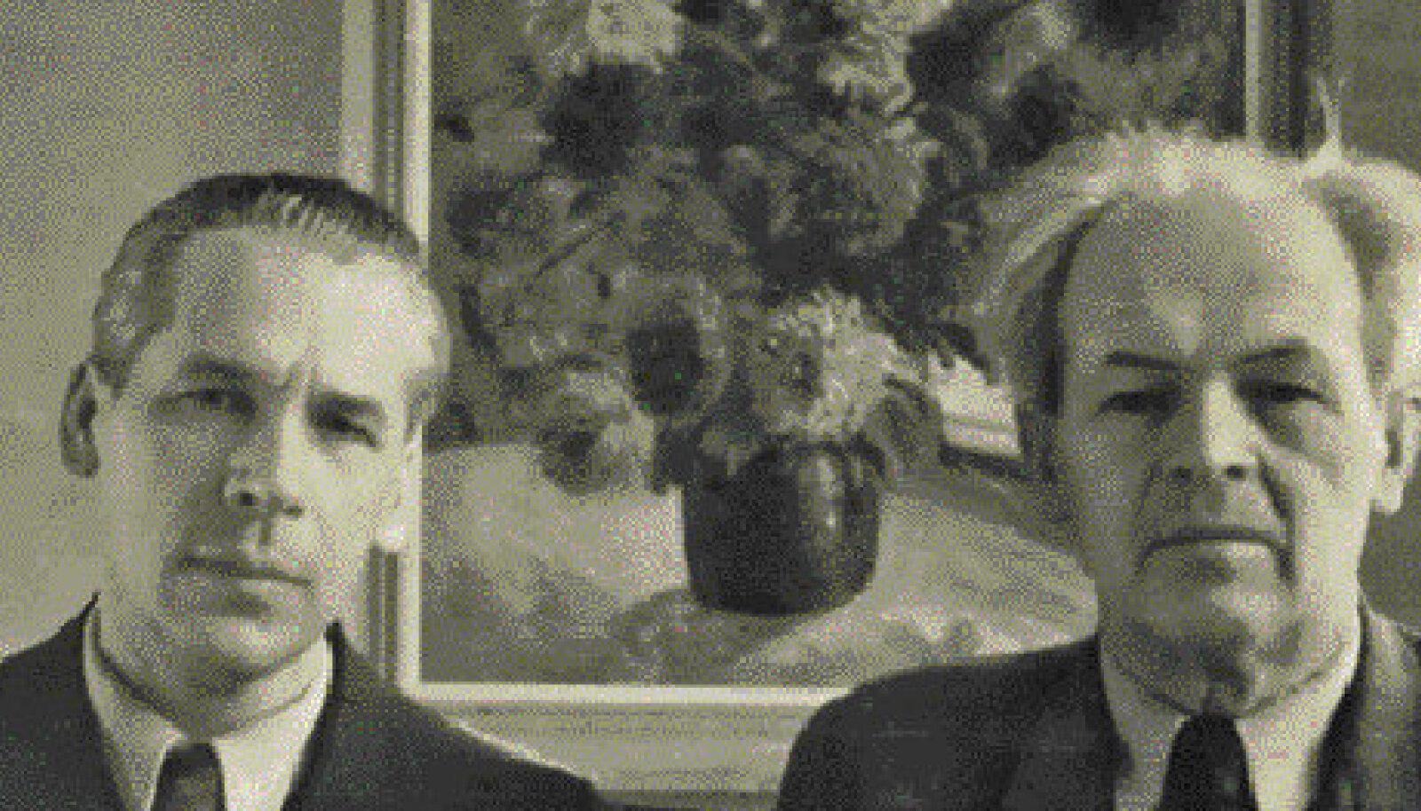 Daniel Palgi koos Peet Vallakuga 1950. aastatel