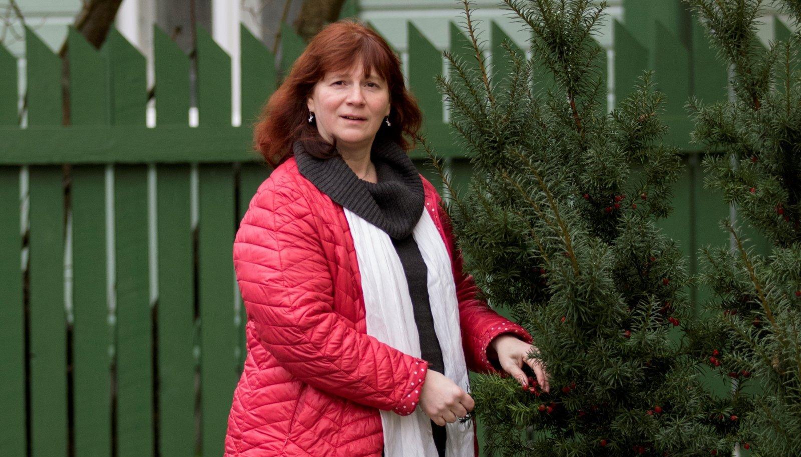 Külaliikumine Kodukant juhatuse esimees Krista Habakukk