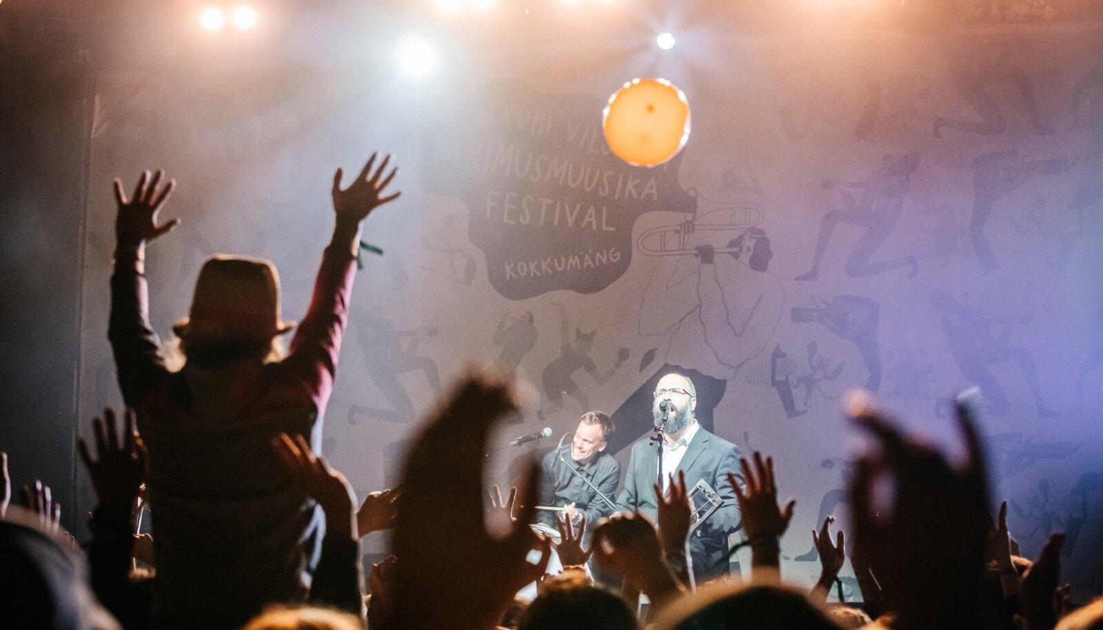 Puuluup Viljandi Pärimusmuusika Festivalil