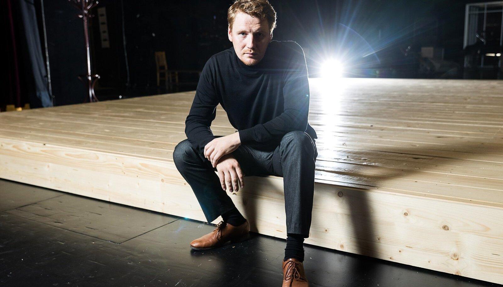 Eesti Draamateatri kunstiline juht Hendrik Toomperenoorem.