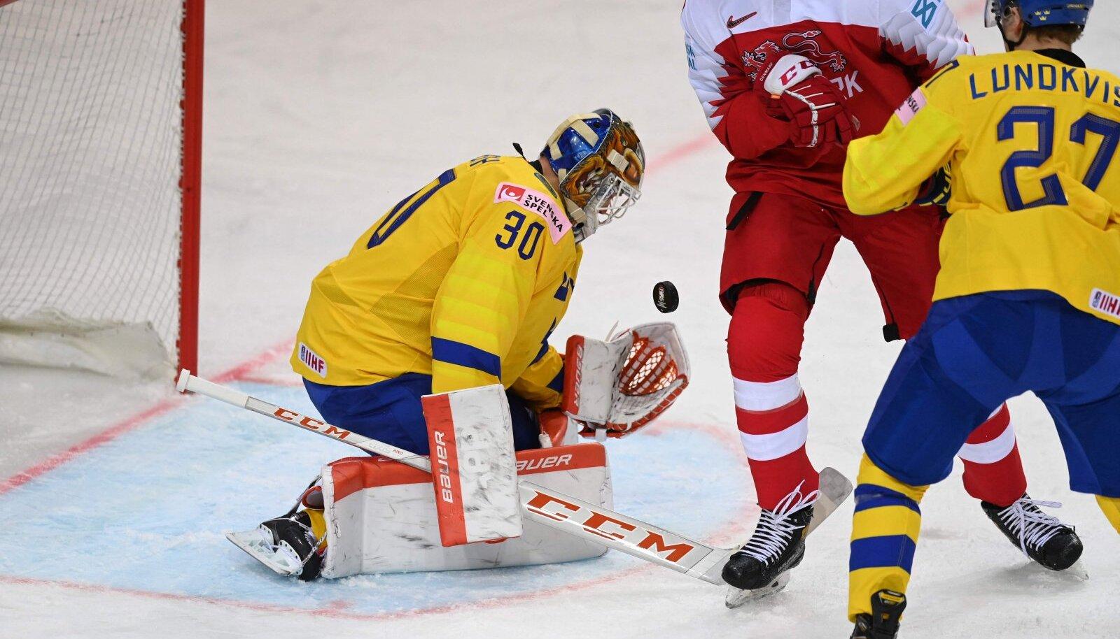Rootsi väravavaht Viktor Fasth