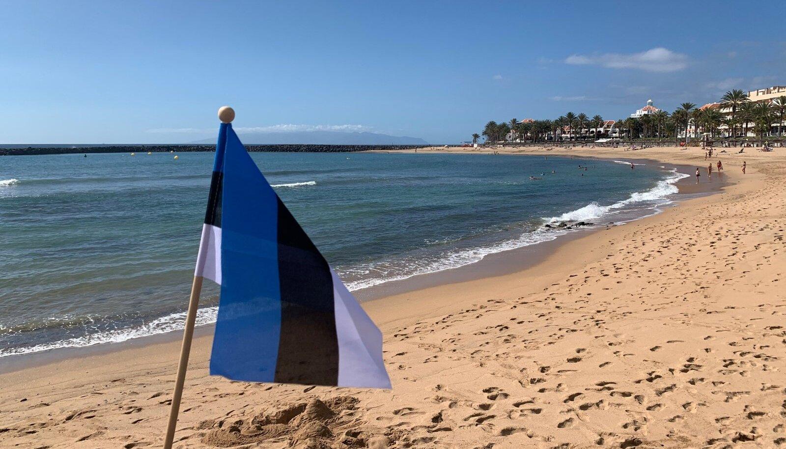 Eesti lipp Tenerifel