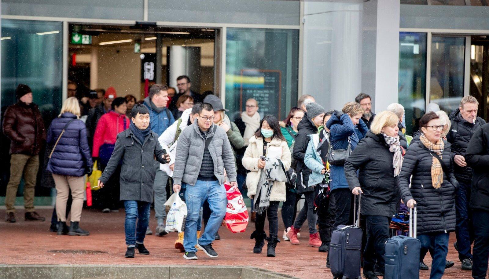 Maskides tulevad Eestisse enamasti Hiina turistid.